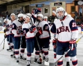 Americans stop Czech comeback for first win