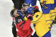 Canada Finishes Olympic Pre-Tournament With Rough Win Over Sweden
