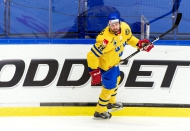 Axelsson Scores Twice to Lead Sweden Over Czech's at Karjala Cup