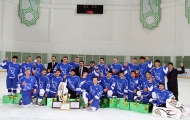 Galkan is the first hockey champion of Turkmenistan