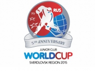 Russian and Swedish teams to play for the Junior Club World Cup title