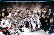 JYP win thriller in Champions Hockey League final