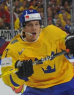 Sweden defeated France in tonight's game, Rakell showed the way after 24 seconds.